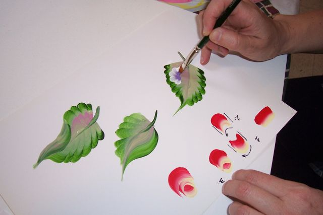 Научиться рисовать на акриле
